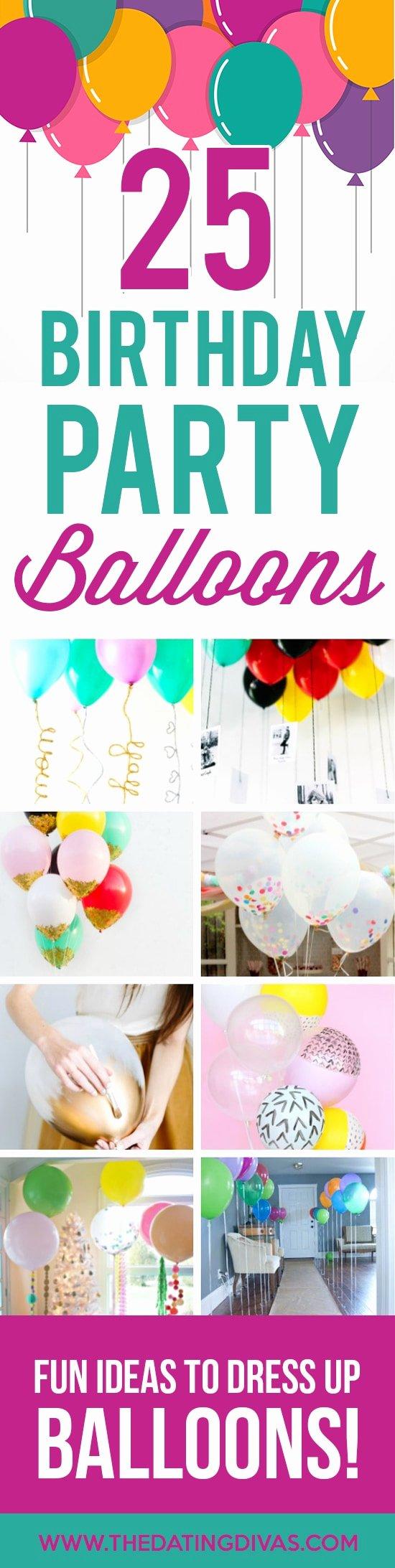Happy Birthday Decoration Ideas at Home New 100 Birthday Party Decoration Ideas the Dating Divas