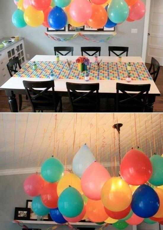 Happy Birthday Decoration Ideas Simple Inspirational Balloon Decoration Ideas Kids Kubby