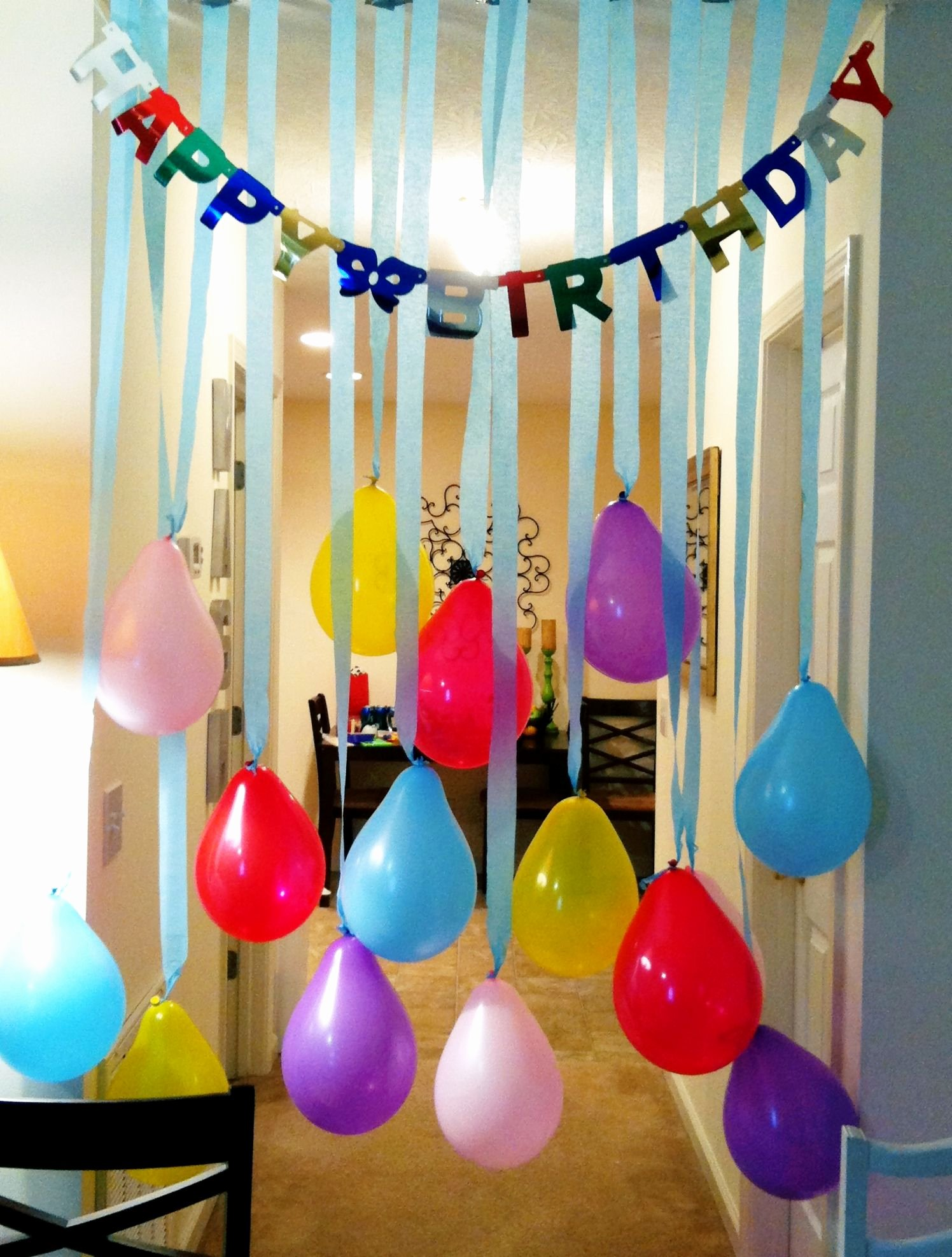 Happy Birthday Decoration Ideas Simple Inspirational Birthday Banner & Streamers Easy Peasy Lemon Squeezy
