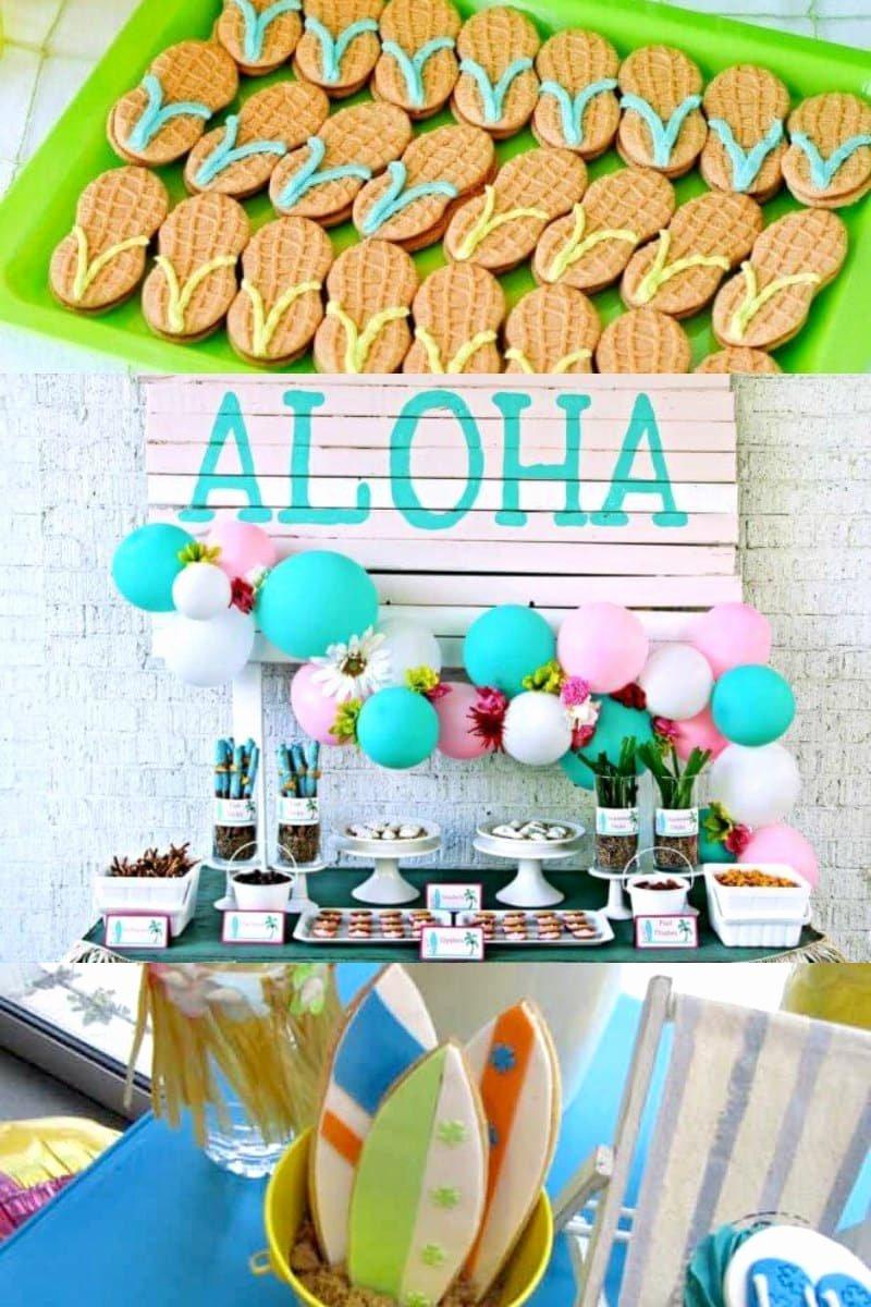 Hawaiian Birthday Decoration Ideas New 21 Hawaiian Luau Party Ideas Spaceships and Laser Beams