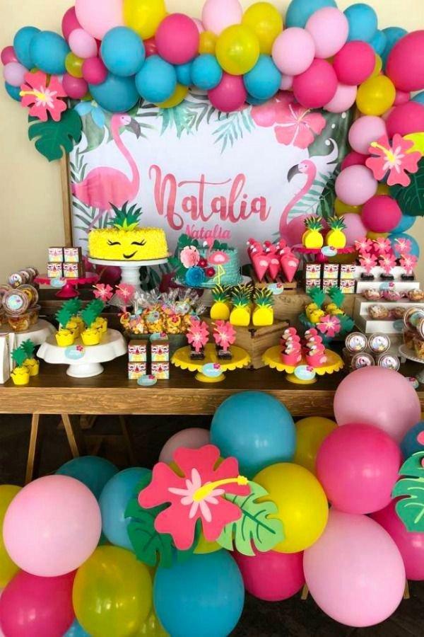 Hawaiian Birthday Decoration Ideas Unique Hawaiian Birthday Party Ideas