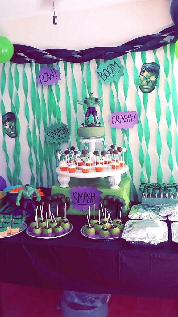Hulk Birthday Decoration Ideas Awesome the Incredible Hulk Party