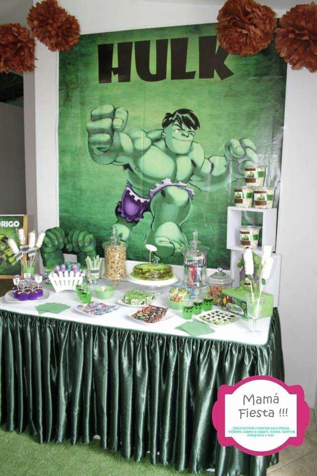 Hulk Birthday Decoration Ideas Inspirational Birthday Party Ideas 11 Of 11