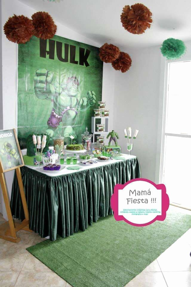 Hulk Birthday Decoration Ideas Inspirational Birthday Party Ideas