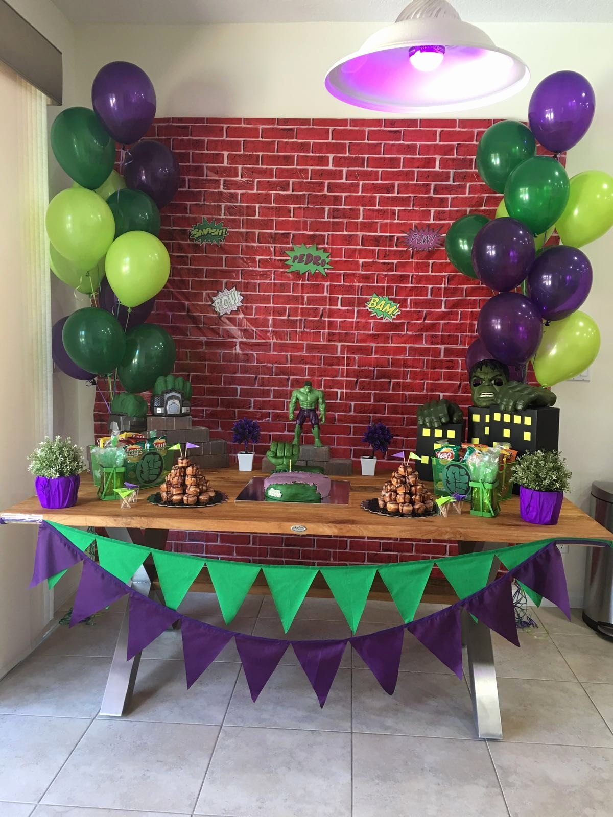 Hulk Birthday Decoration Ideas New Pin by Karla Sucre On Pedro S Bday
