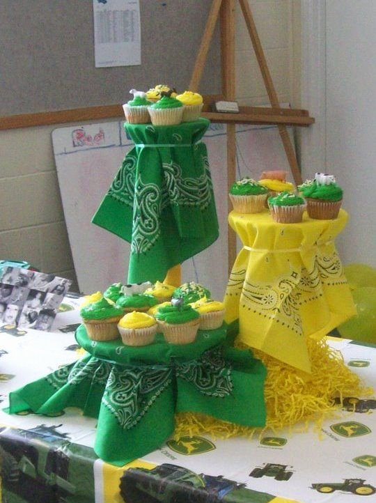 John Deere Birthday Decoration Ideas New Pin On Birthday Parties