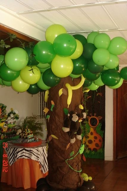 Jungle theme Birthday Decoration Ideas Awesome Jungle Animals Birthday Party Ideas