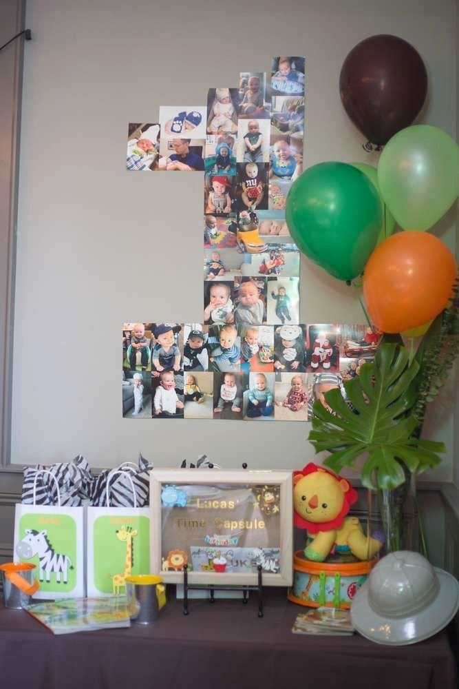 Jungle theme Birthday Decoration Ideas Awesome Jungle Safari Birthday Party Ideas 24 Of 90