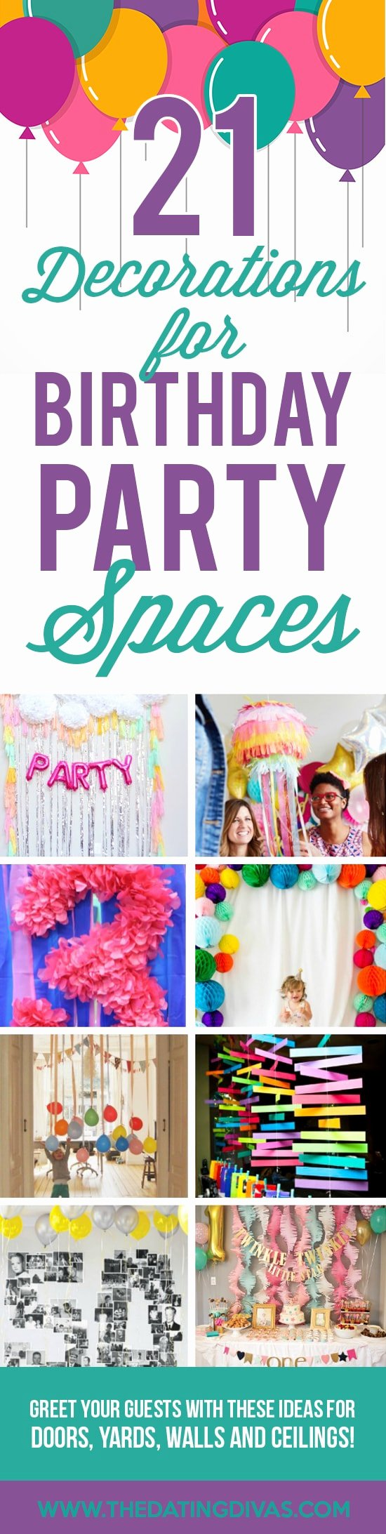 Latest Birthday Decoration Ideas at Home Lovely 100 Birthday Party Decoration Ideas the Dating Divas