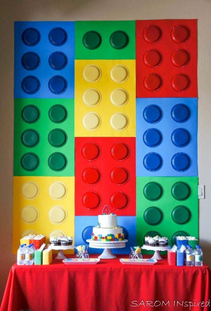 Lego Birthday Decoration Ideas Awesome Lego Birthday Party Ideas