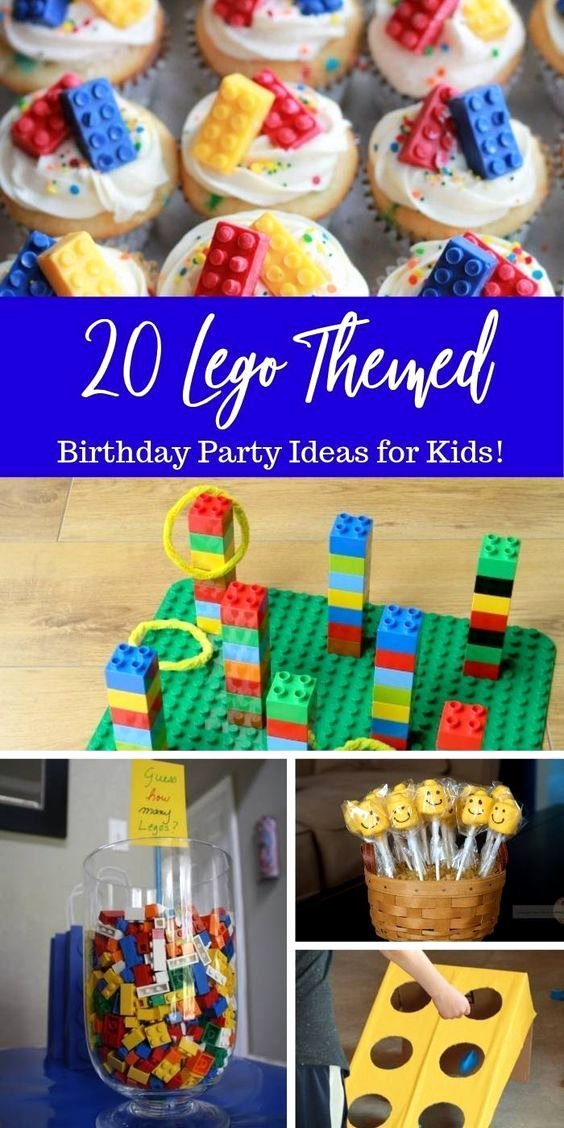 Lego Birthday Decoration Ideas Unique Check Out these Lego Birthday Party Idea for Kids From Lego