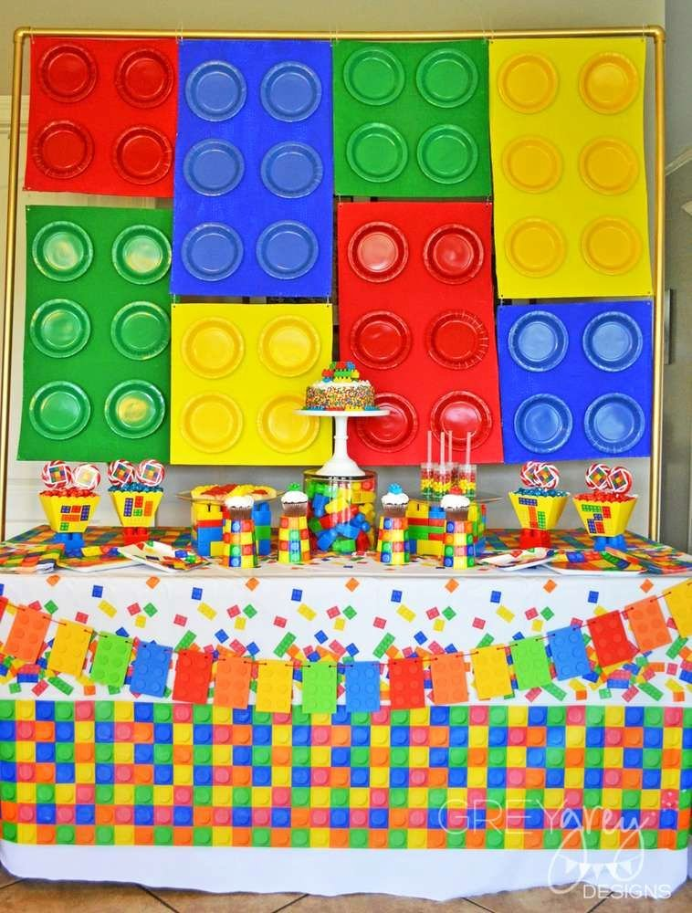 Lego Birthday Decoration Ideas Unique Legos Lego Movie Lego Friends Birthday Party Ideas