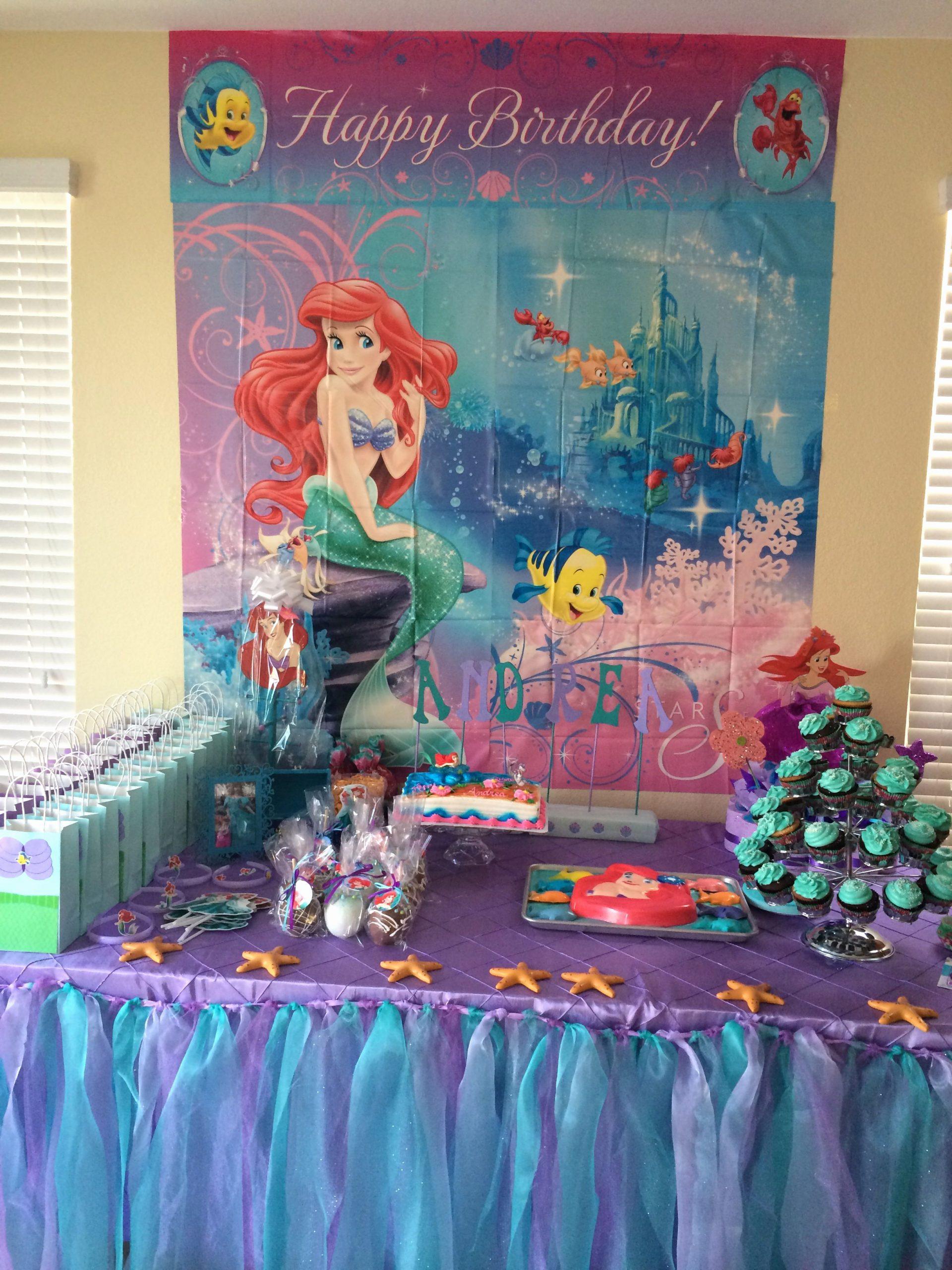 Little Mermaid Birthday Decoration Ideas Elegant 5 Best Little Girl Party Decoration Ideas Images On Home