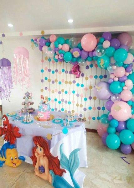 Little Mermaid Birthday Decoration Ideas Luxury 70 Best Ideas Birthday Party Decorations Princess Little