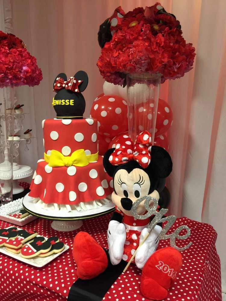 Mickey and Minnie Birthday Decoration Ideas Inspirational Mickey Mouse Minnie Mouse Birthday Party Ideas