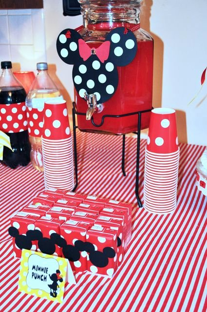 Mickey and Minnie Birthday Decoration Ideas New Mickey Mouse Clubhouse or Minnie Mouse Birthday Party Ideas