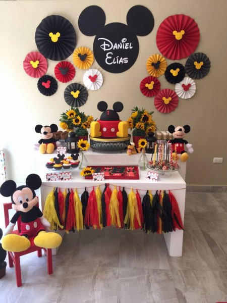 Mickey Birthday Decoration Ideas Elegant Mickey Bday themes 5 Best Mickey Mouse Birthday Decorations