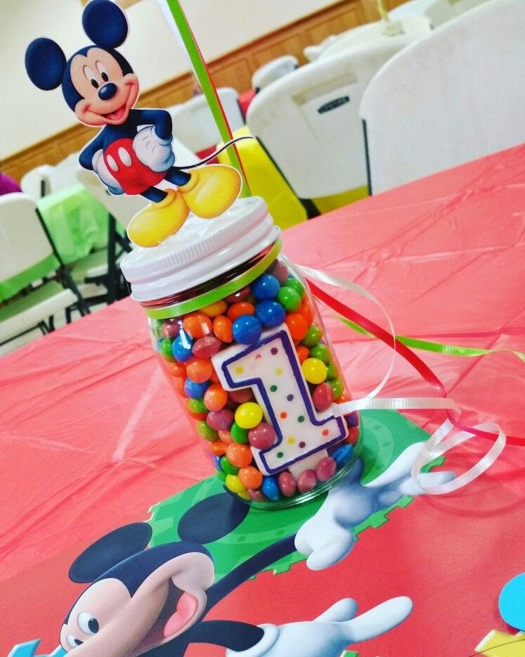 Mickey Mouse Clubhouse Birthday Decoration Ideas Elegant Mickey Mouse Clubhouse theme Birthday Centerpiece