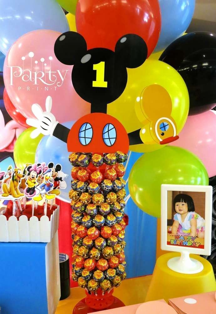 Mickey Mouse Clubhouse Birthday Decoration Ideas Lovely Mickey Mouse Clubhouse Birthday Party Ideas