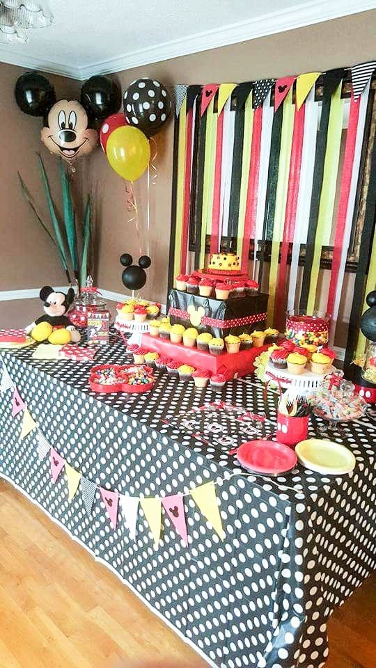 Mickey Mouse First Birthday Decoration Ideas Best Of Diy Mickey Mouse Party Ideas