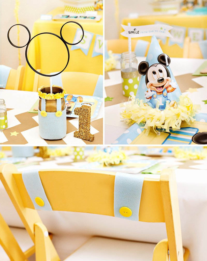 Mickey Mouse First Birthday Decoration Ideas Fresh Creative Mickey Mouse 1st Birthday Party Ideas Free