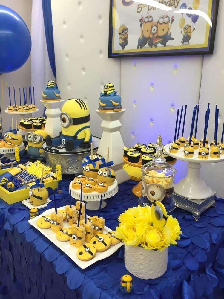 Minion Birthday Decoration Ideas Elegant Minions Birthday Party Ideas 10 Of 27