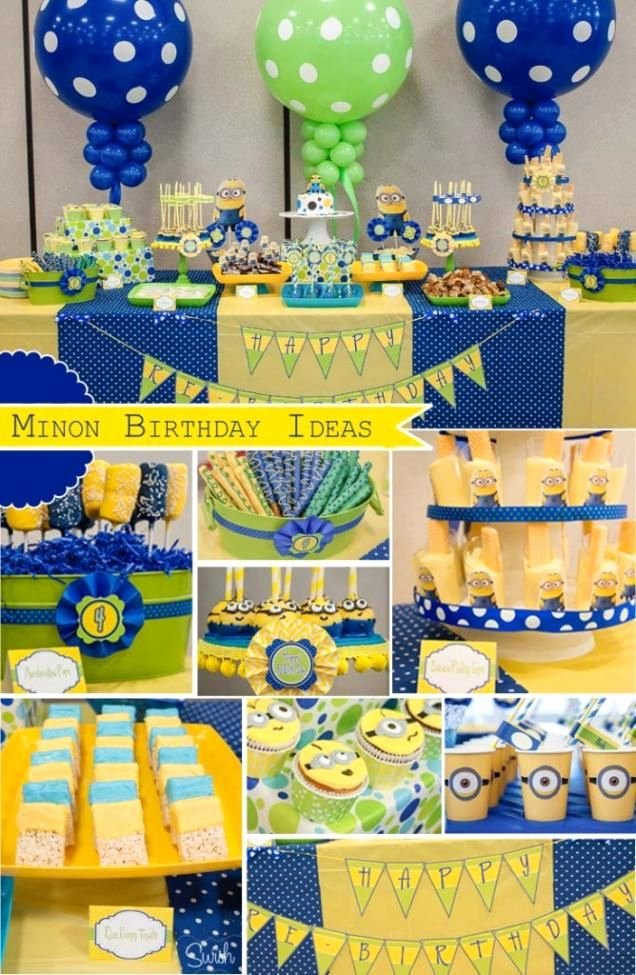 Minion Birthday Decoration Ideas Elegant Party Ideas