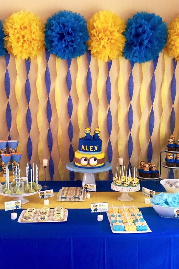 Minion Birthday Decoration Ideas Luxury 21 Best Birthday Party themes Not Only for Kids Pastbook
