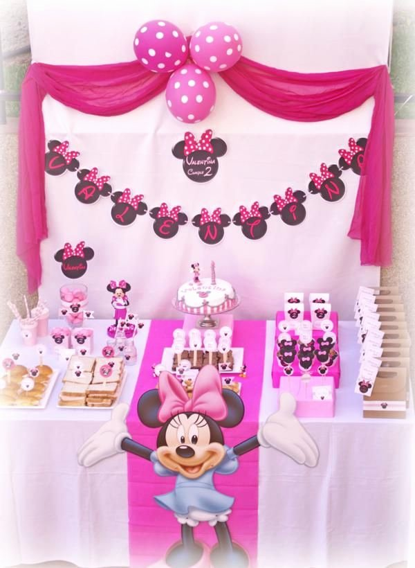 Minnie Birthday Decoration Ideas Fresh Igp8762 600x820 Kara S Party Ideas