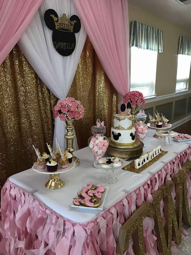 Minnie Birthday Decoration Ideas Lovely Minnie Mouse Birthday Party Ideas