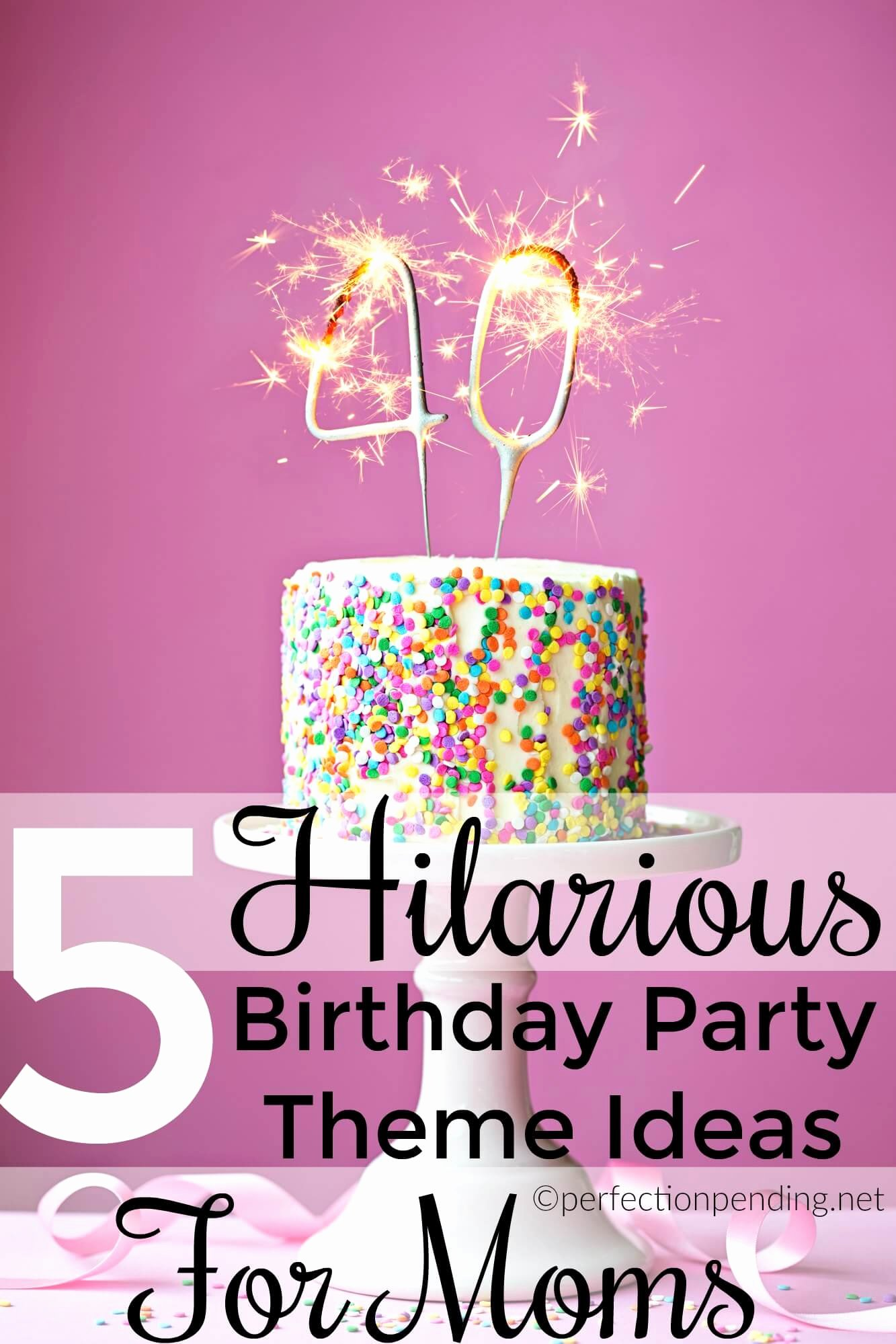 Mom Birthday Decoration Ideas Luxury Five Birthday Party themes Moms totally Want for their Next