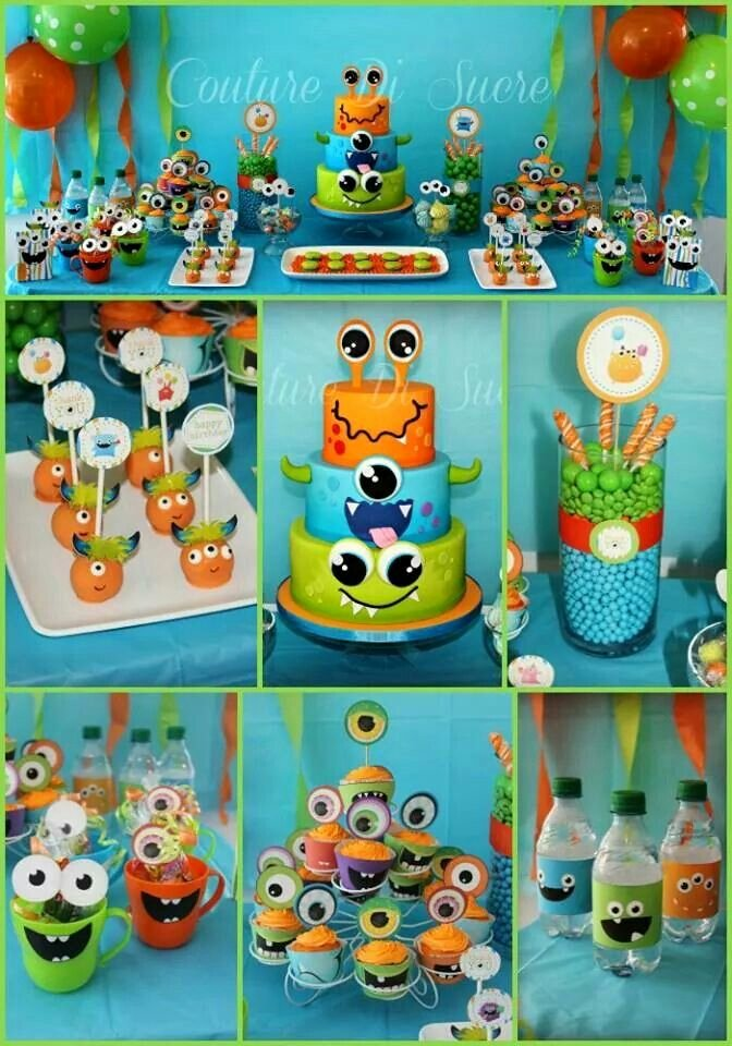 Monster Birthday Decoration Ideas Lovely Pin by Nadine Philipp On Cakes and Party Ideas