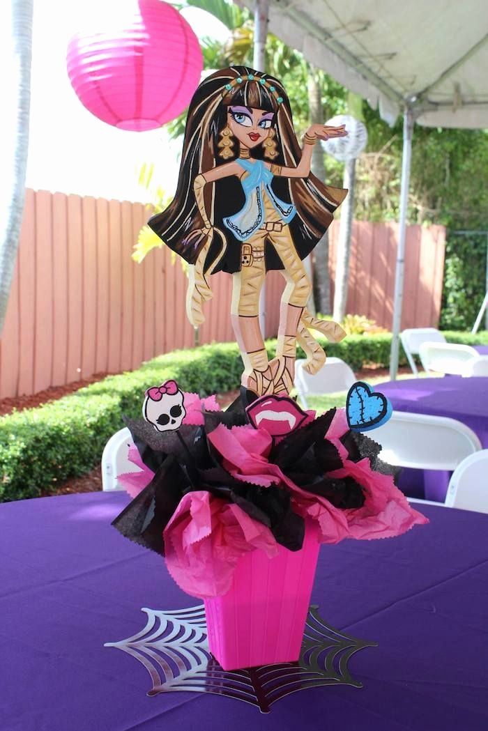 Monster High Birthday Decoration Ideas Beautiful Monster High themed Birthday Party Ideas Planning Decor