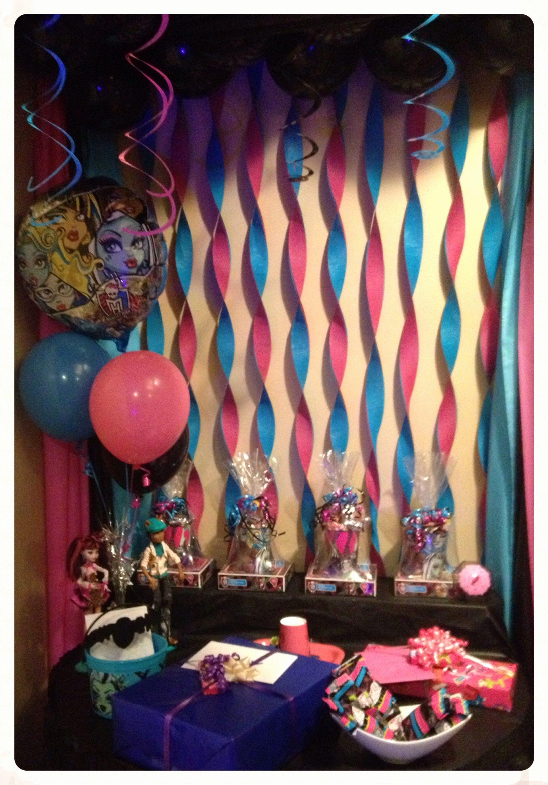 Monster High Birthday Decoration Ideas Best Of Monster High Birthday Party theme