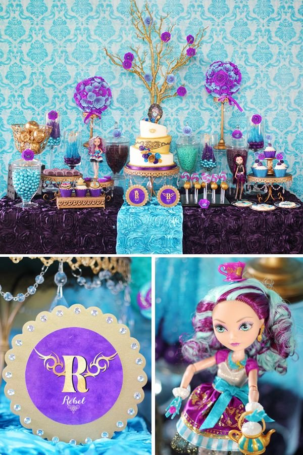 """Monster High Birthday Decoration Ideas Best Of Trend Alert """"ever after High"""" Party theme"""