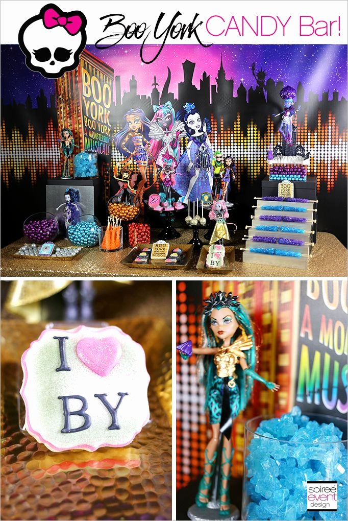 Monster High Birthday Decoration Ideas Inspirational Pin On Monster High Party Ideas