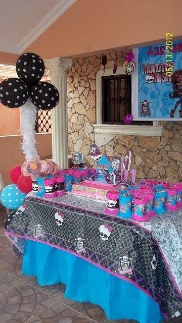 Monster High Birthday Decoration Ideas New Monster High Birthday Party Ideas with Images