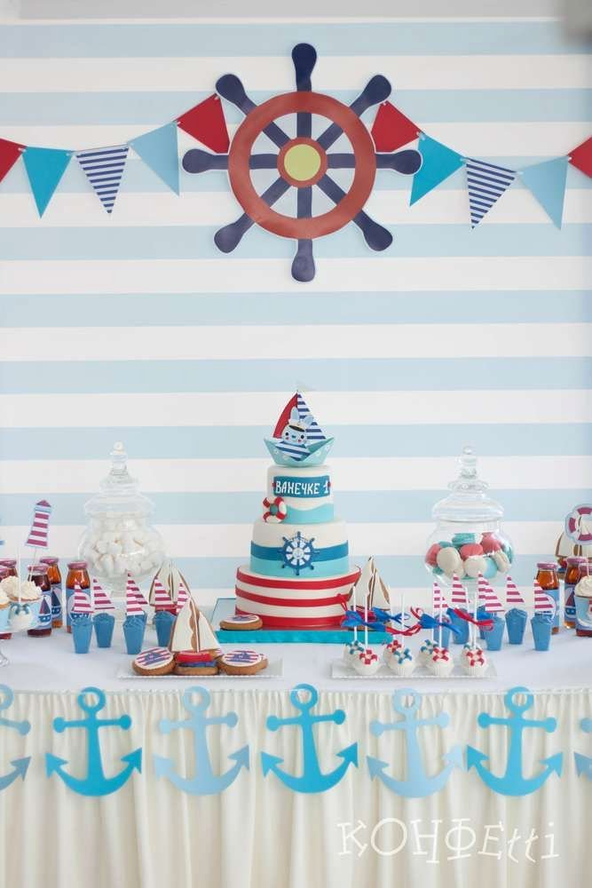 Nautical Birthday Decoration Ideas Unique Pin On Nautical Party Ideas