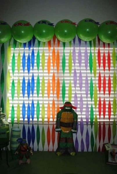 Ninja Turtle Birthday Decoration Ideas Awesome Teenage Mutant Ninja Turtle Birthday Party Ideas