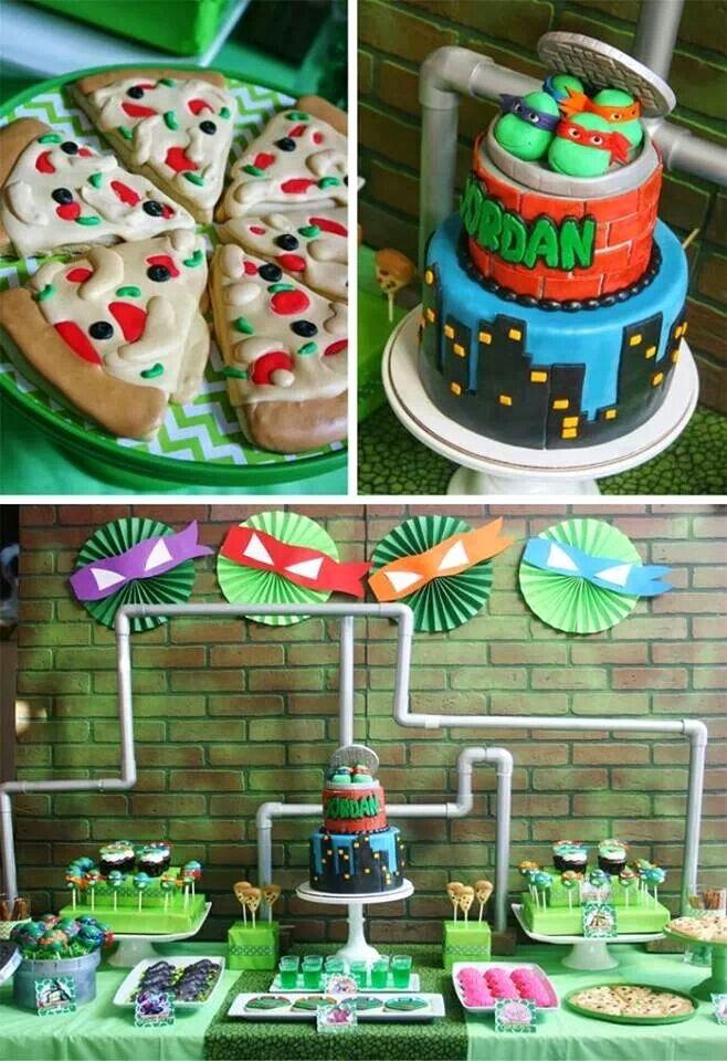 Ninja Turtle Birthday Decoration Ideas Best Of Teenage Mutant Ninja Turtles Party Planning Ideas Supplies