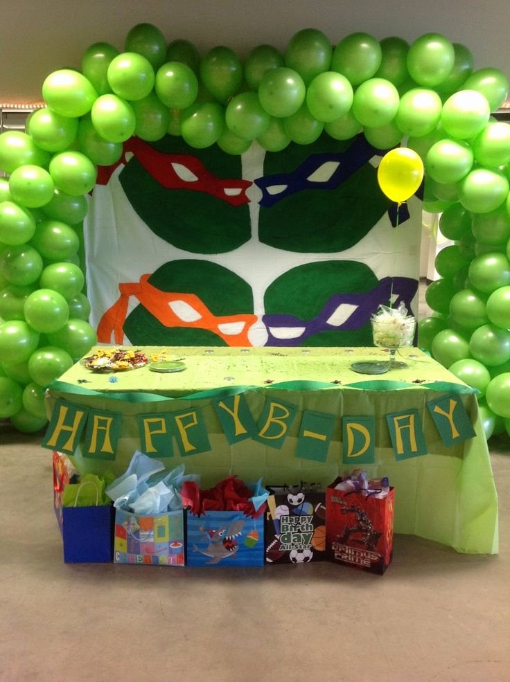 Ninja Turtle Birthday Decoration Ideas Elegant Ninja Turtles Decorations Google Search