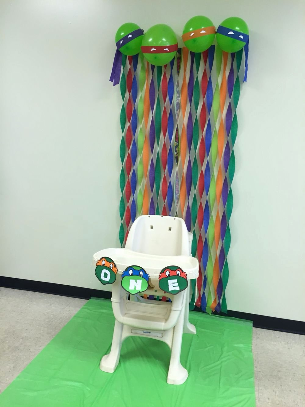 Ninja Turtle Birthday Decoration Ideas New Tmnt First Birthday Decorations