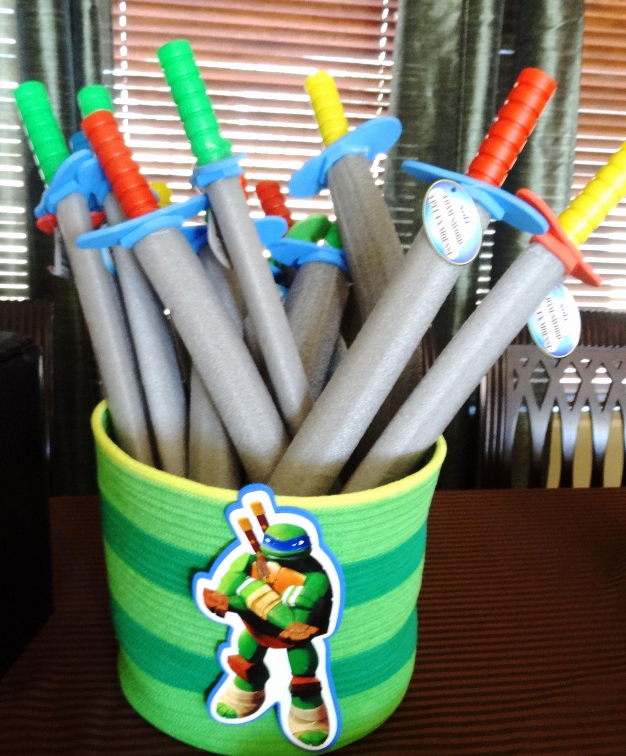 Ninja Turtle Birthday Decoration Ideas Unique Teenage Mutant Ninja Turtles Birthday Party Ideas