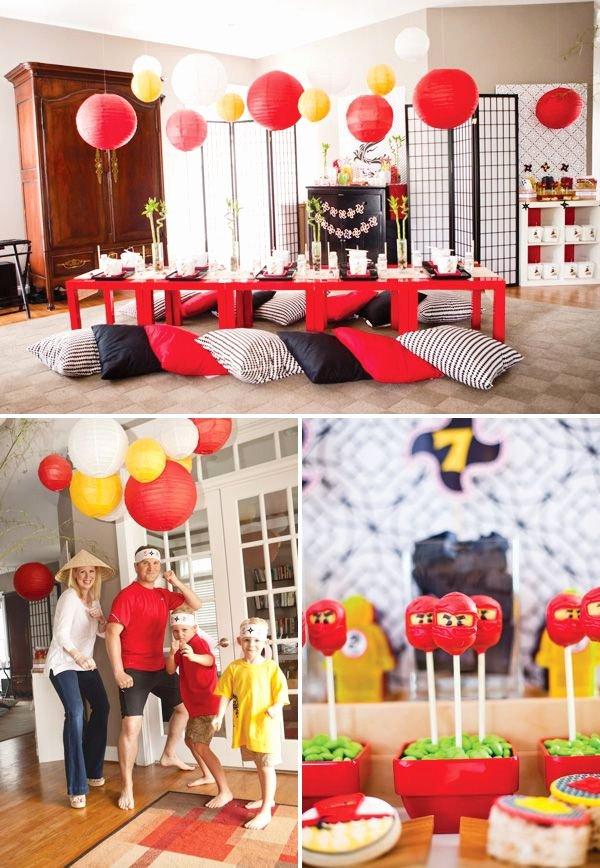 Ninjago Birthday Decoration Ideas Best Of Pin On Birthday Bash