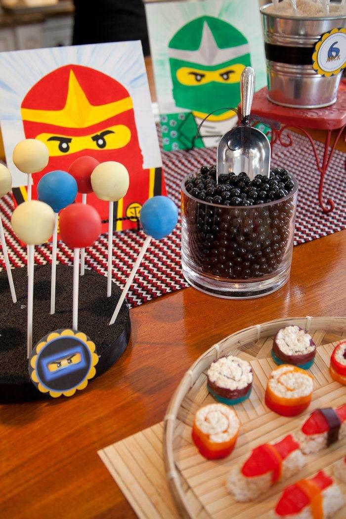 Ninjago Birthday Decoration Ideas Elegant Kara S Party Ideas Ninjago themed Birthday Party Planning