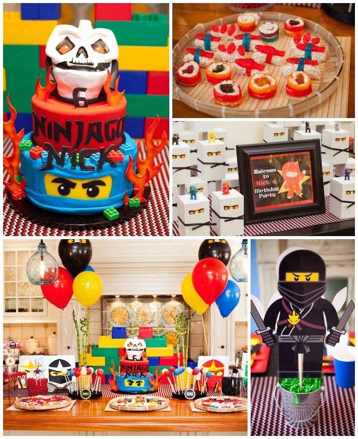 Ninjago Birthday Decoration Ideas Elegant Ninjago themed Birthday Party Planning Ideas Decor Idea