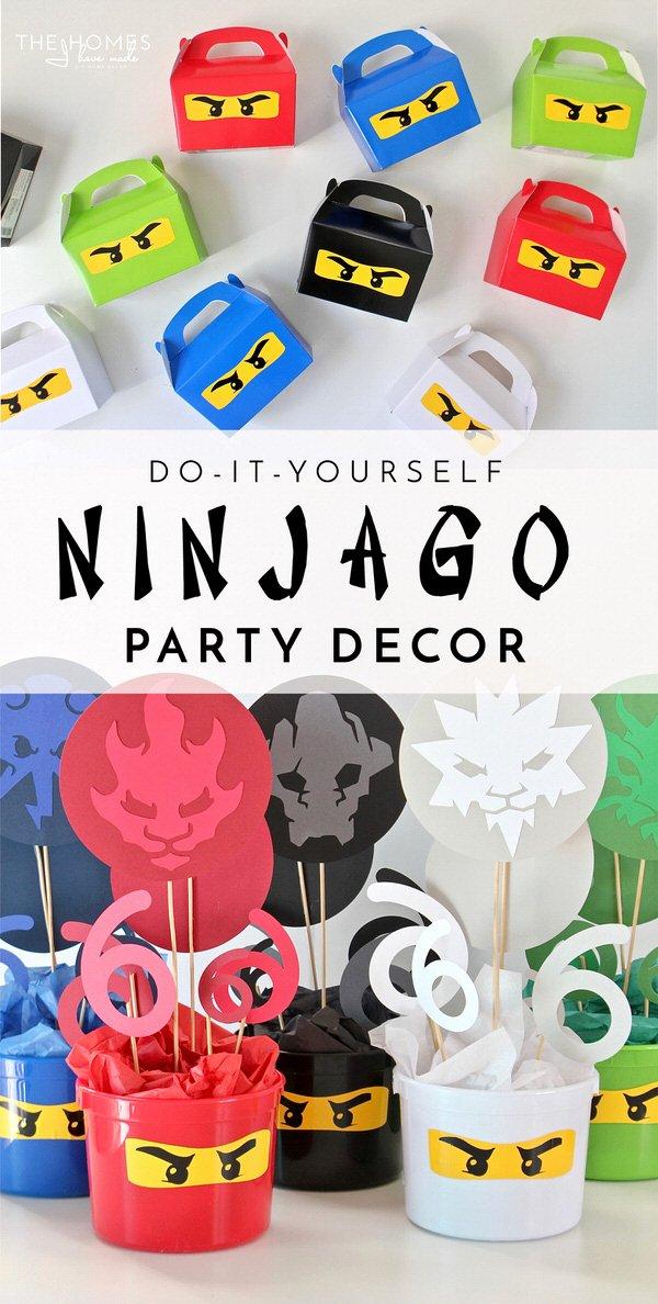 Ninjago Birthday Decoration Ideas Fresh Diy Ninjago Party Decor Henry S 6th Birthday Party