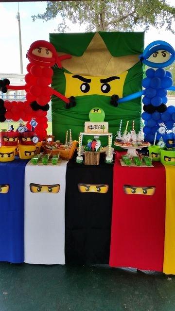 Ninjago Birthday Decoration Ideas Inspirational Lego Ninjago Ninja Birthday Party Ideas