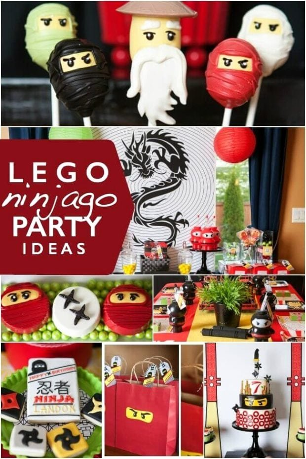 Ninjago Birthday Decoration Ideas Luxury 23 Of the Best Ninjago Party Ideas Spaceships and Laser Beams