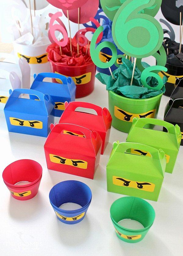 Ninjago Birthday Decoration Ideas New Diy Ninjago Party Decor Henry S 6th Birthday Party